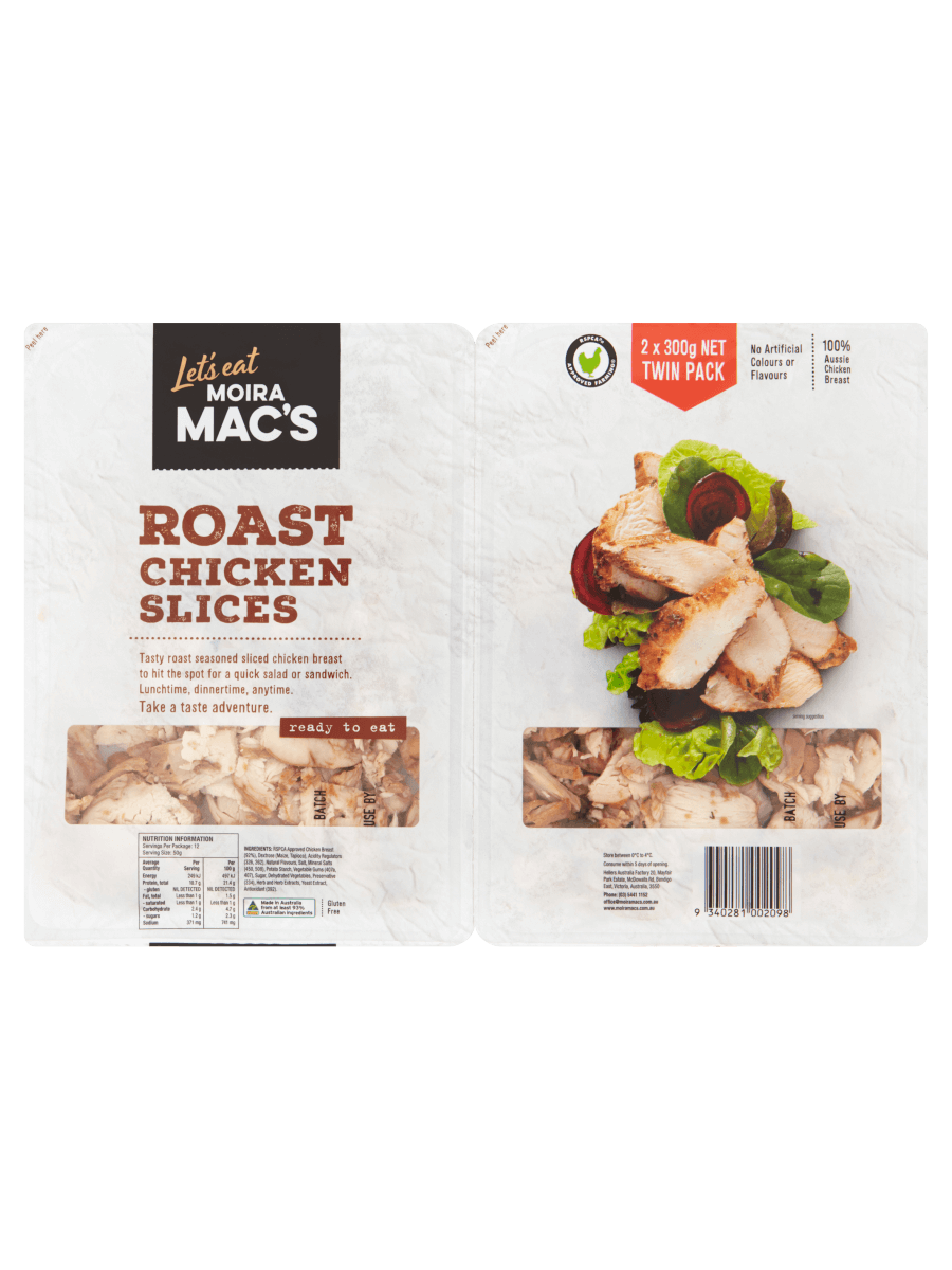 Roast Chicken Slices